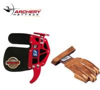 Tabs und Handschuhe