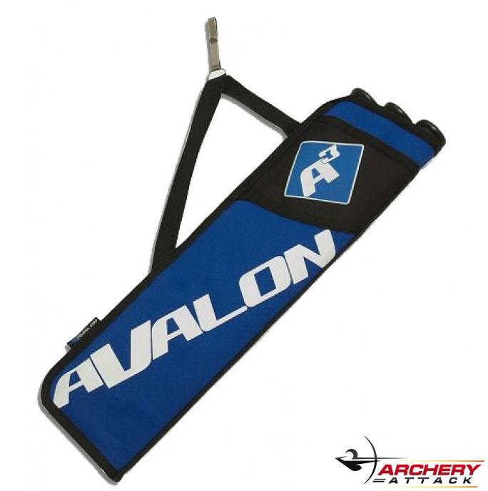 Avalon - A3 Köcher - 3 mit Gürtelhaken