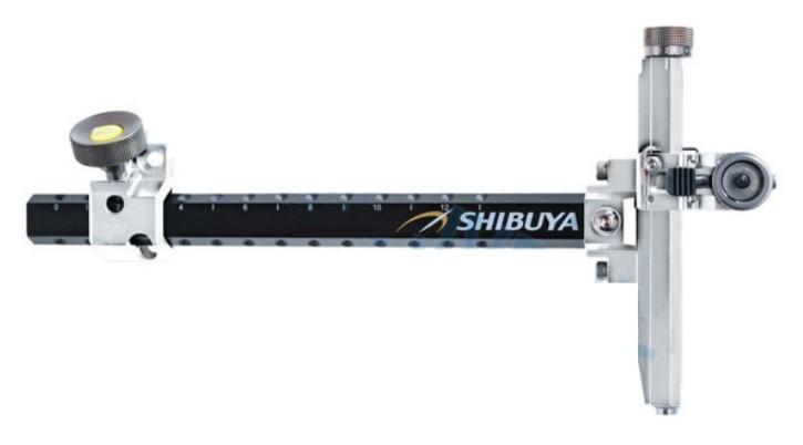 Shibuya - 485-9 Ultima II RC Recurve Carbon Visier