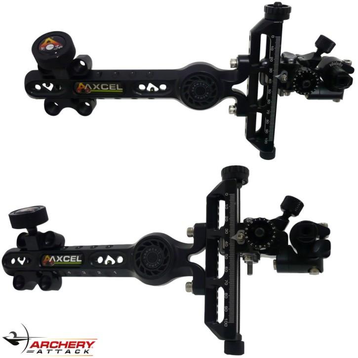 Axcel - ACHIEVE CXL Compound Visier mit Dämpfer und Lock-System