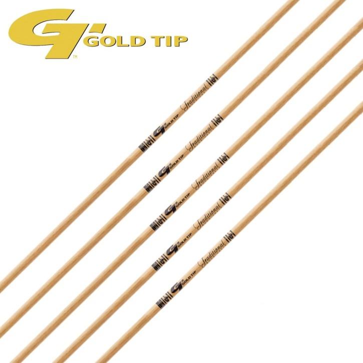 Gold Tip - Traditional Schaft 12 Stück