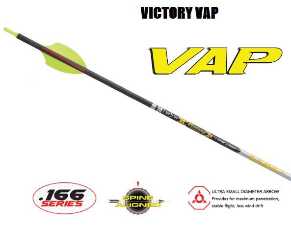 VICTORY - VAP Target Elite Schaft 12 Stück