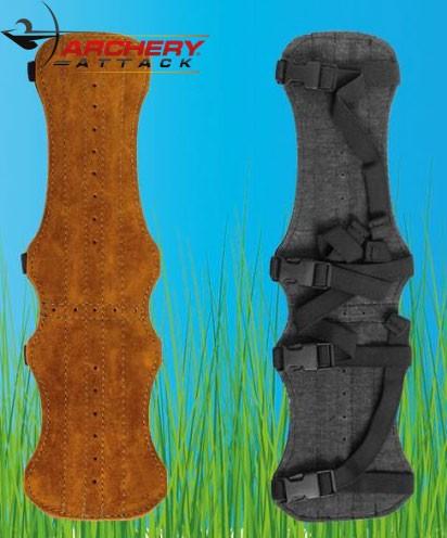 Buck Trail - Armschutz 34cm Rehleder