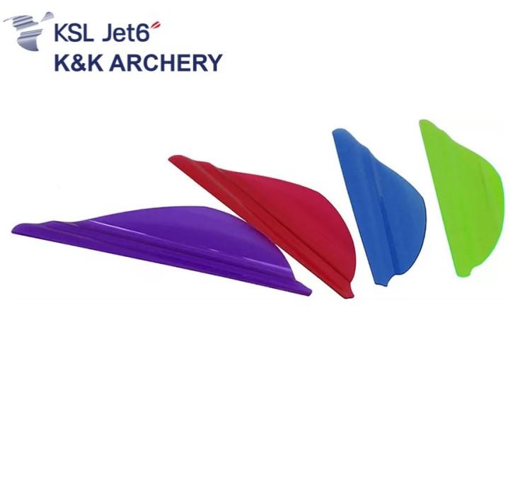 K&K Archery - Jet6 Vanes rechtshand / Rose Pink / 1-3/4 Zoll