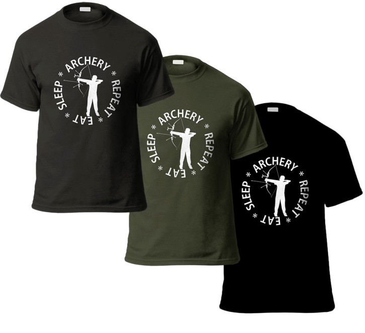 T-Shirt - Eat-Sleep-Archery-Repeat