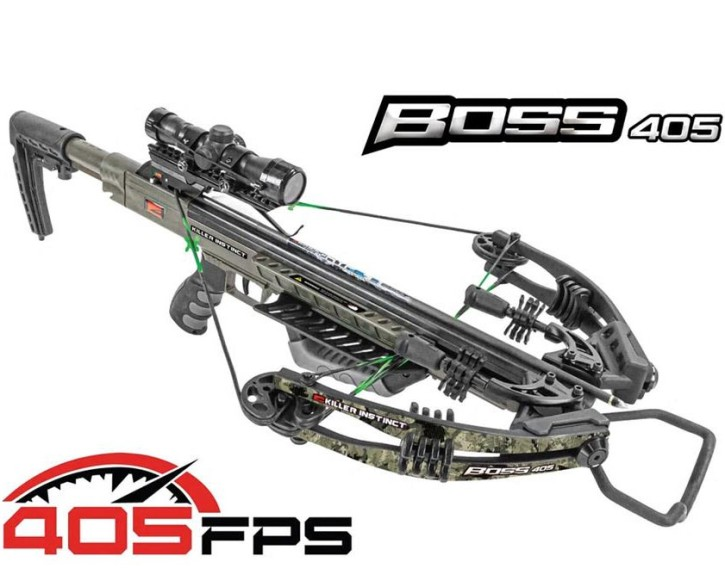 Killer Instinct Boss Pro Armbrust Package