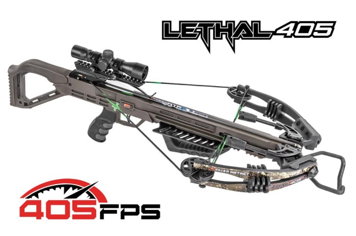 Killer Instinct Armbrust Lethal 405 Pro Timber Strata